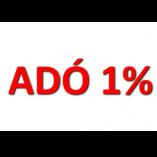 ADÓ 1% class=